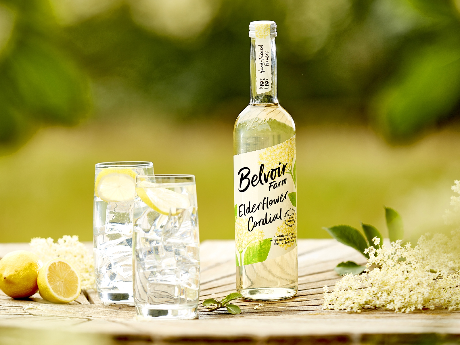 Belvoir Elderflower Our Work