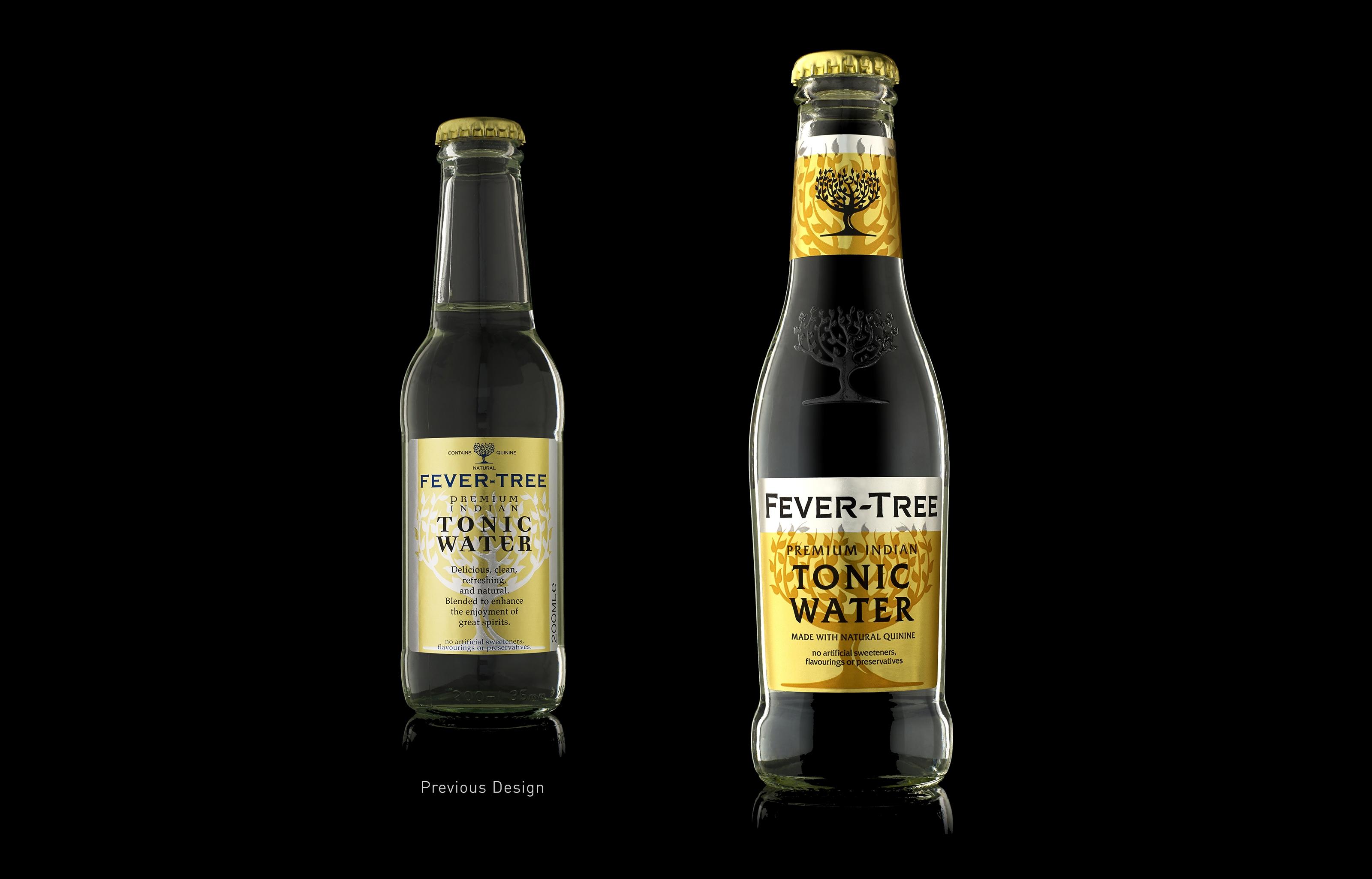 Fever Tree Old New