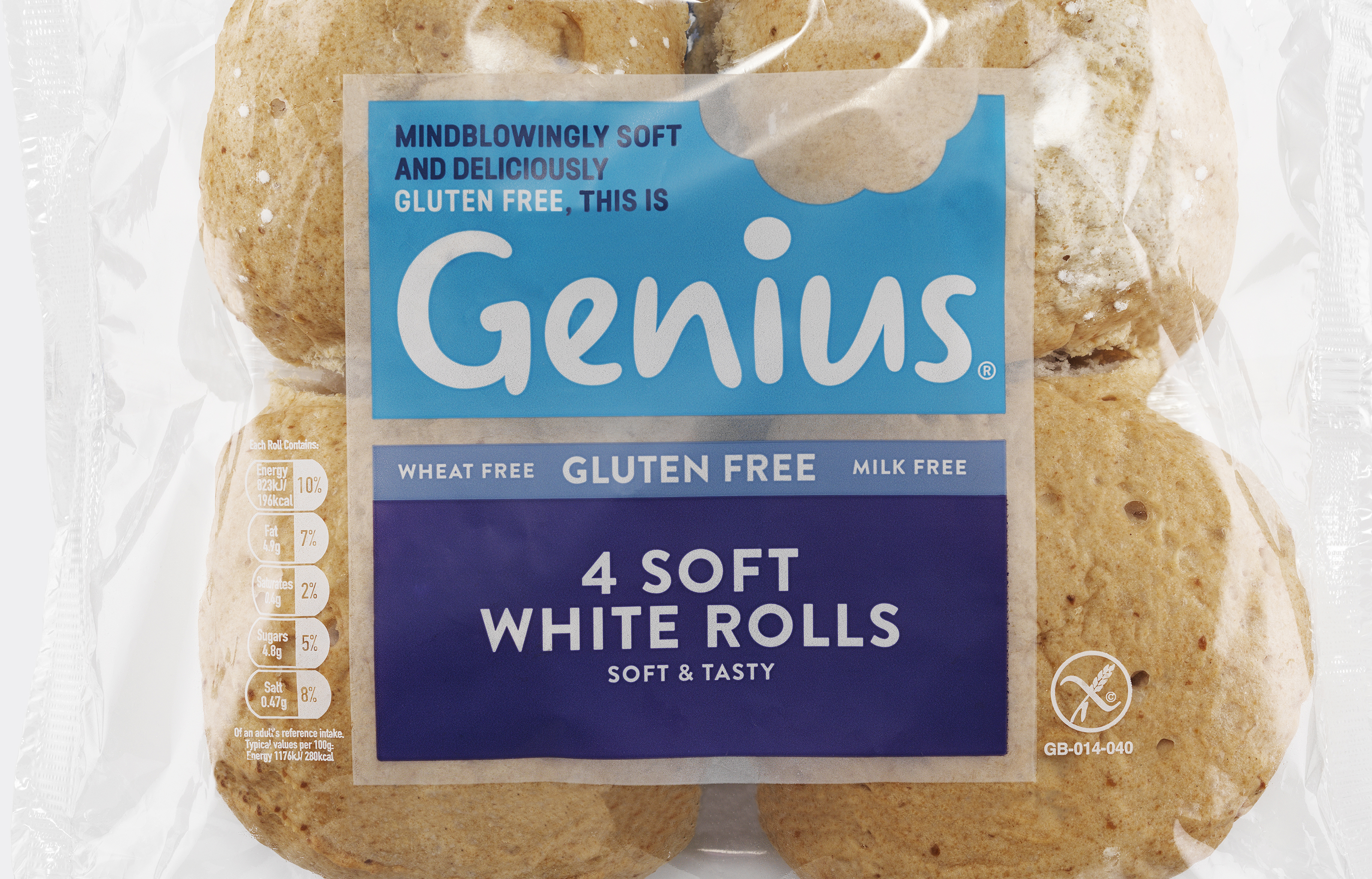 Genius Soft White Rolls