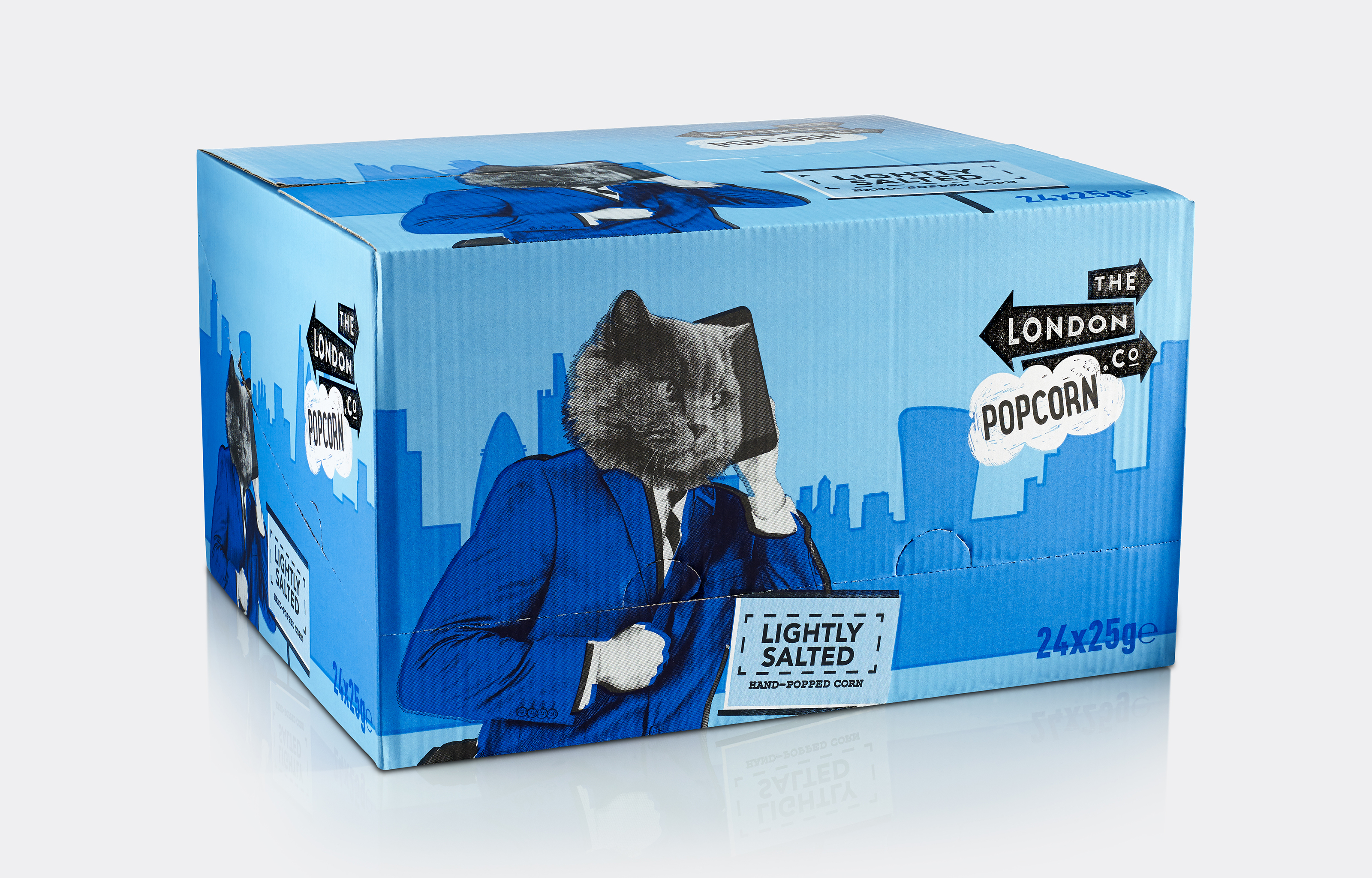 London Popcorn Co Salted Box