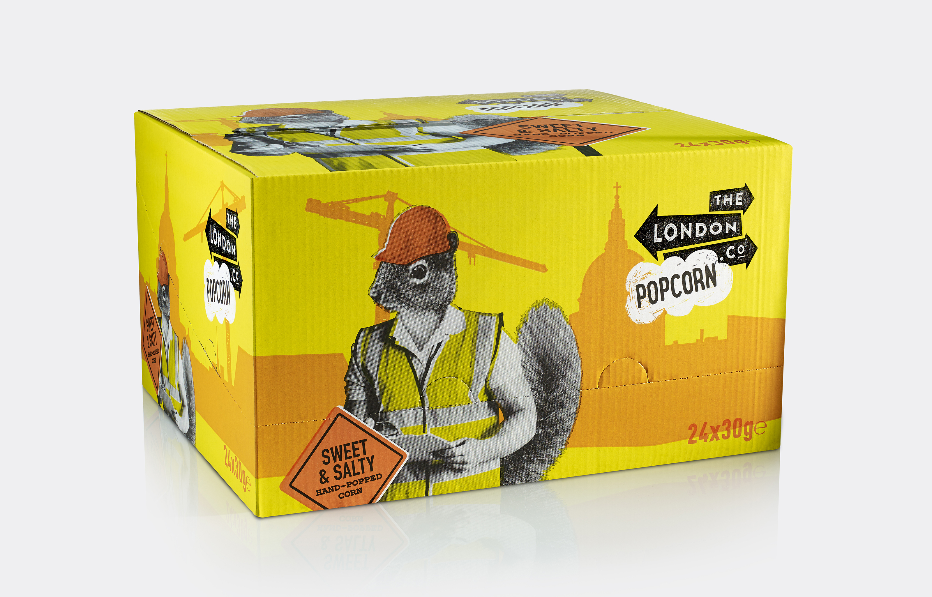 London Popcorn Co Sweet Box