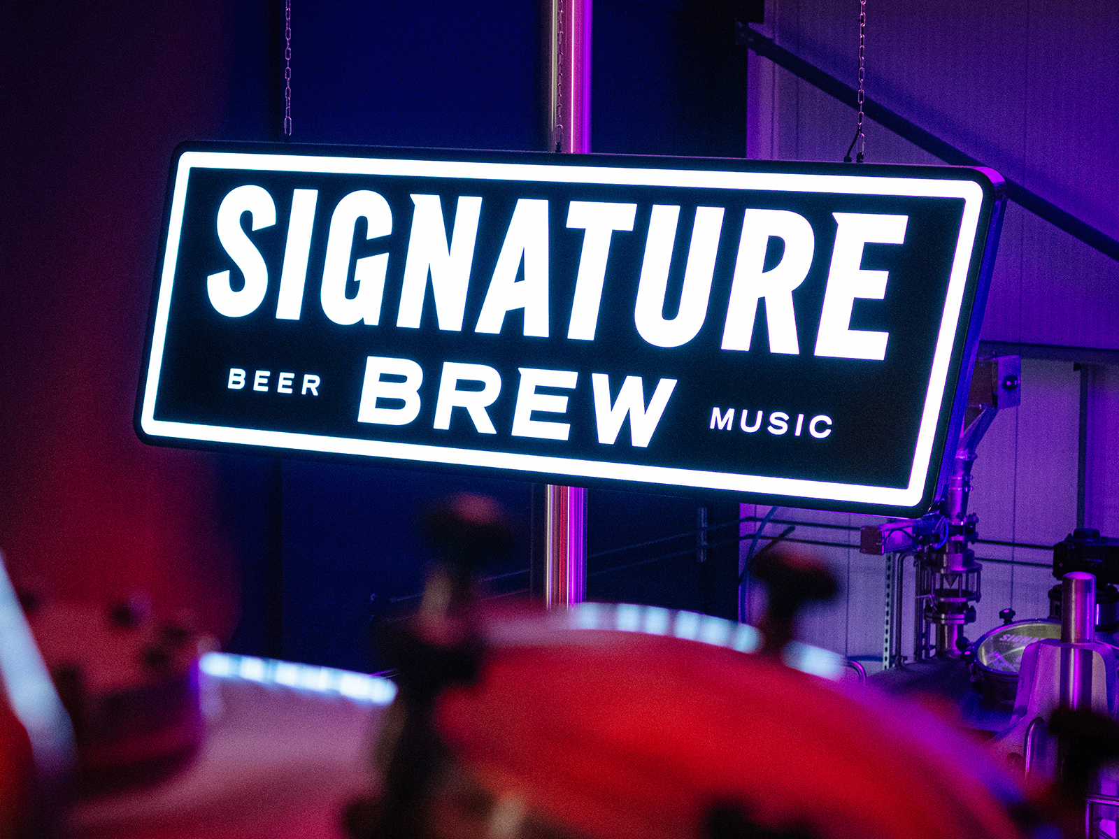 Sig Brew Sign Our Work