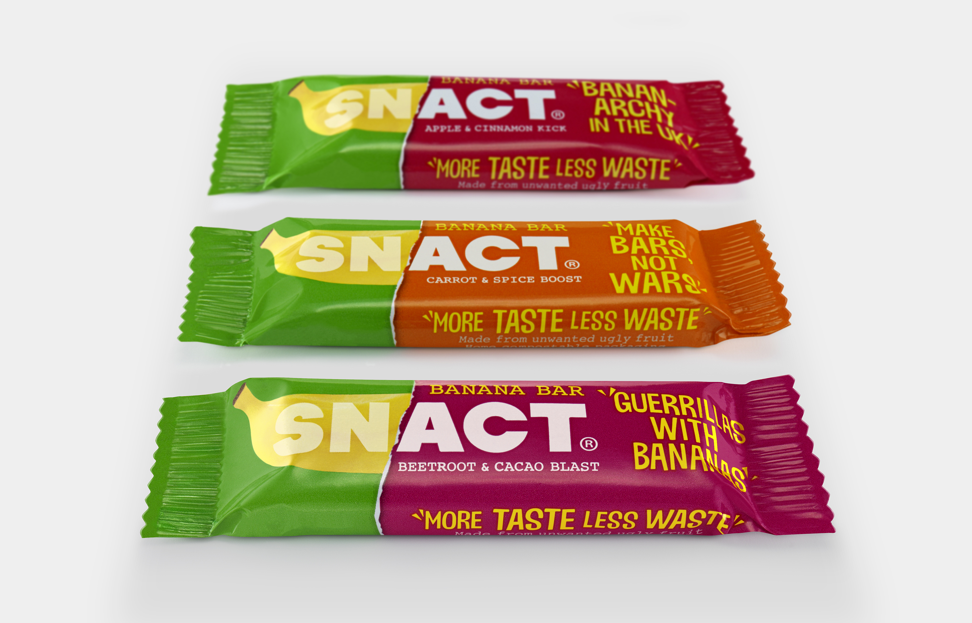 Snact Banana Bars