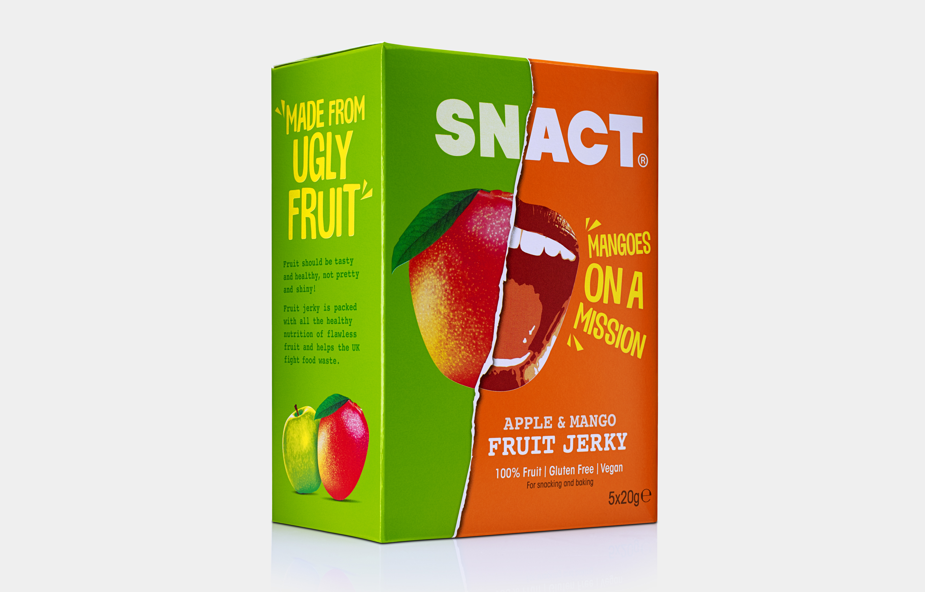 Snact Apple Mango Box Col