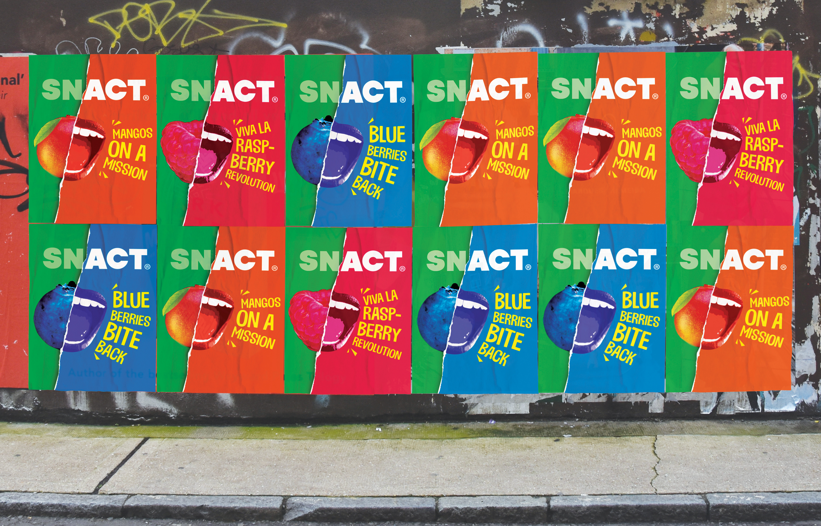 Snact Poster Wall